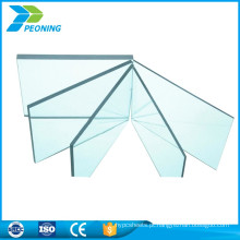Forte resistência à plasticidade transparente soild policarbonato pc sheet