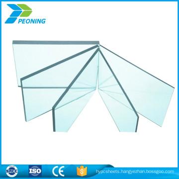Strong plasticity resistance transparent soild polycarbonate pc sheet