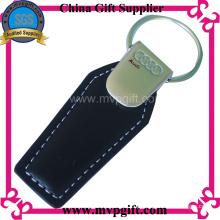 Cadeia de couro de couro personalizado para presentes do carro