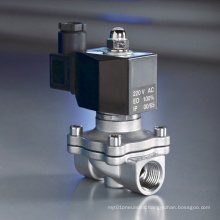 "1/2"" 2/2 Way Stainless Steel Food Grade Solenoid Valve"