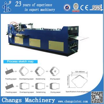 Xty-380 Custom A6 Window Envelope Size Making Machine Precio