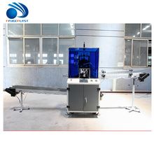 Einfacher Betrieb billig Preis PVC Kunststoff Hdpe Flaschenschneider Maschine