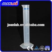 JOAN Laboratory Cilindro de medición de plástico transparente con base