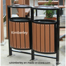 Cheap and Fine, Eco-Friendly, Green WPC Trash Can