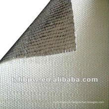 Isolamento térmico de fibra de vidro aluminizada