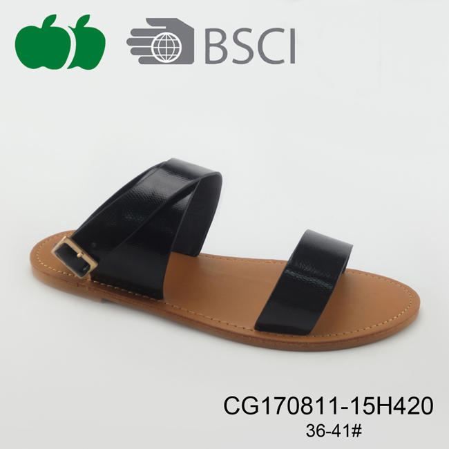 Popular Beautiful Flat Ladies Outdoor Sandals