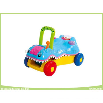 Switchable Toys Crocodile Prince Baby Walker 2 in 1