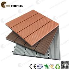 Waterproof outdoor usage interlocking diy tile