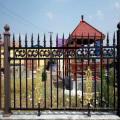 clôture de jardin en aluminium clôture de confidentialité en métal