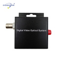 1 channel Digital optical fiber video converter,single mode,20km distance,security and protection monitoring device
