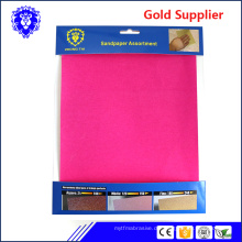 Schleifpapier / Schleifpapier / Schleifblatt für Metall / Holz