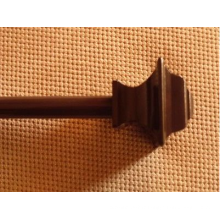 Tuyau en rideau en poly résine polyvalente moderne de 24 pouces