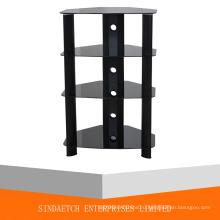 Стеклянная подставка для аудио / видеокомпонентов, стойка для подставки HiFi Rack AV