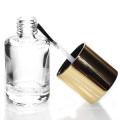 frasco feito-à-medida do verniz para as unhas do cilindro 5ml-15ml feito sob encomenda com escova