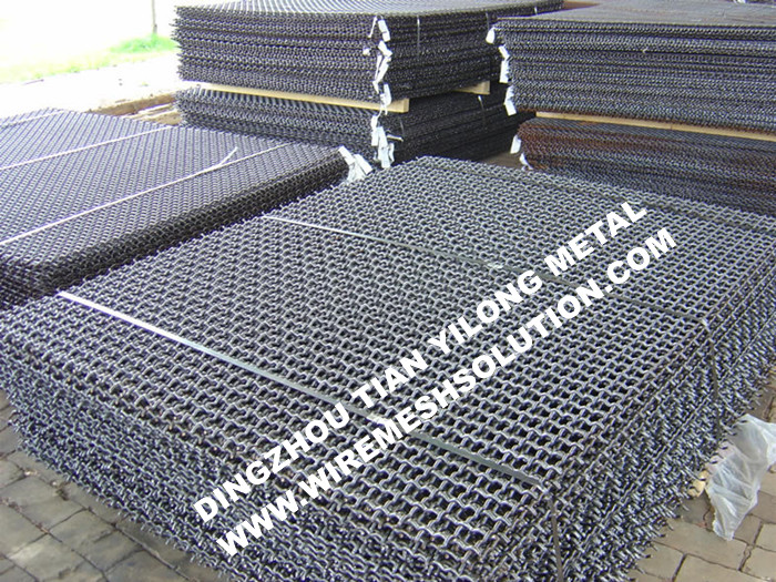 Heavy Duty Crimped Wire Mesh