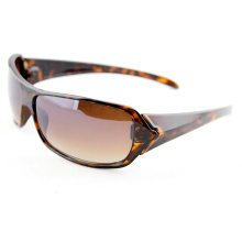 Crystal Brown Tortoise Polarized Fashion Sports Sunglasses for Women (91001)
