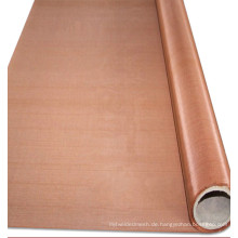 60 70 mesh 99,99% reines rotes Kupferdrahtgeflecht für den Faraday-Käfig