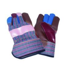 Regenbogen-Kuh-Korn-Arbeitshandschuh, Möbel-Lederhandschuh