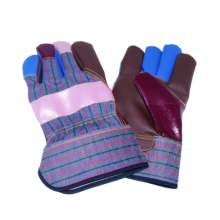 Rainbow Cow Grain Work Glove, Furniture Leather Glove