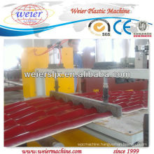 corrugated resin roof production line