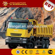 Camión volquete de la marca IVECO del camión volquete con el radiador del camión volquete de la grúa para la venta