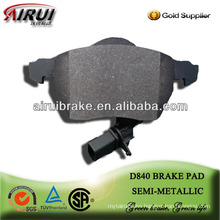 D840 Passat B5 free shipping low metal brake pad