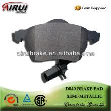 D840 Passat B5 бесплатная доставка low metal тормозные накладки