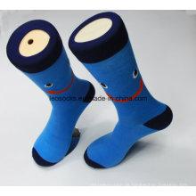 Socken der Großhandelsmänner Socken-Gewohnheits-Männer