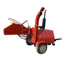 40HP Diesel engine trailer mounted wood chipper