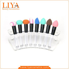 Hot sale Cosmetic Makeup Liquid Cream Foundation Sponge puff with handle