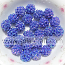 Assorted Online Sale Opaque Imitation Berry Beads Blue Color