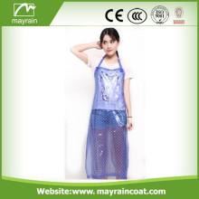 Romantic Color PVC Apron for Women