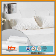 "T / C 50 50 120 ""de tela tejida blanca ancha del hotel"