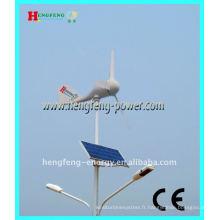 solaire en acier & réverbère de la puissance éolienne (hybride)