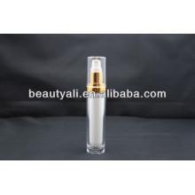 15ml 30ml 60ml 120ml Botella de acrílico cosmética redonda