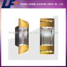 Ascensor de cristal, ascensor panorámico