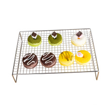 3-layer stainless steel stackable baking cooking rack