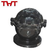 varios tamaños de válvula de pie de control de resorte de hierro fundido