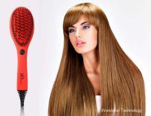 फैशन 2017 बाल straightener ब्रश