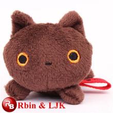 Peluche ojos grandes gato juguetes de peluche de juguete de animales