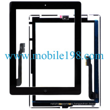 OEM Touch Screen Digitizer para iPad 4 Black Repuestos