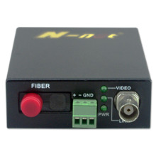 1 Saluran video HD-SDI Lebih dari Fiber Video Converter
