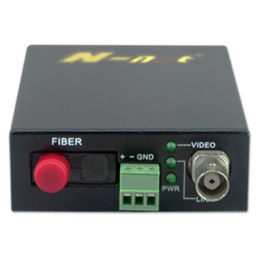 1-kanals video HD-SDI Over Fiber Video Converter