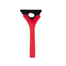 ABS promotional ice scraper ice removal wiper with short handle