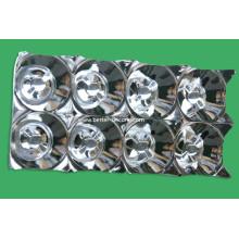Réflecteur de lumière en plastique à revêtement électrolytique LED