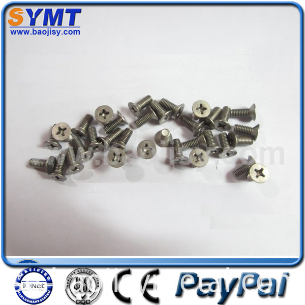 99.95% Titanium Screw