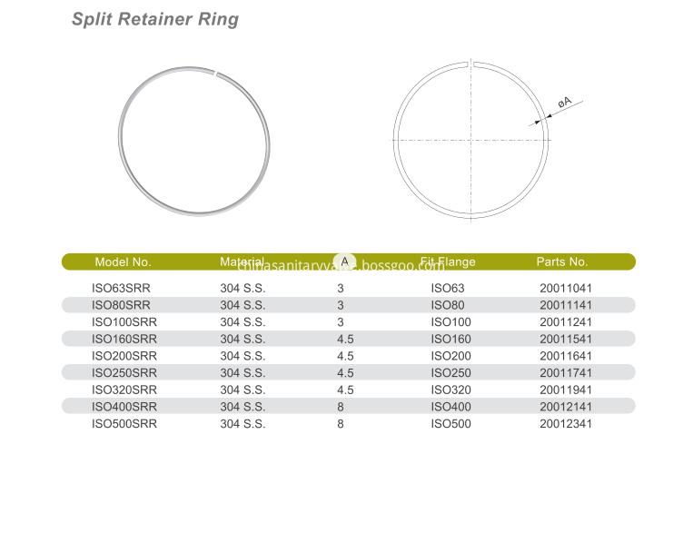 Split Retainer Ring