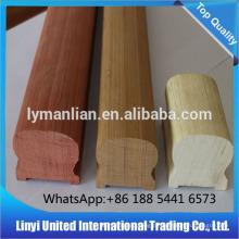 Balaústres de madeira de teca / corrimãos de boa qualidade e preço razoável