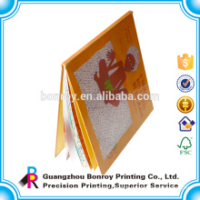 Cheap all pages are customized cardboard cover book