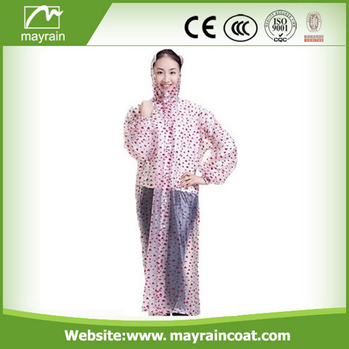 All - Over Printing PVC Raincoat